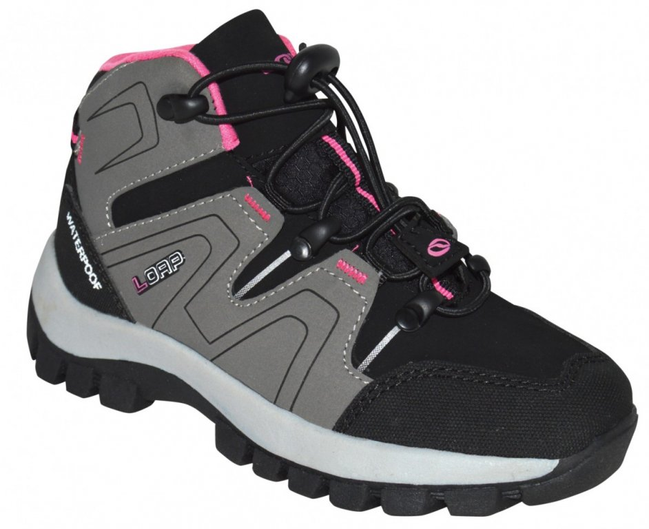 boty dětské LOAP TARBY zimní šedé, 28