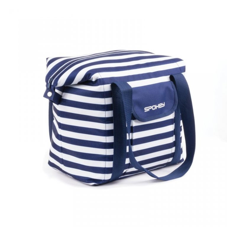 taška plážová Spokey SAN REMO modrá pruhy