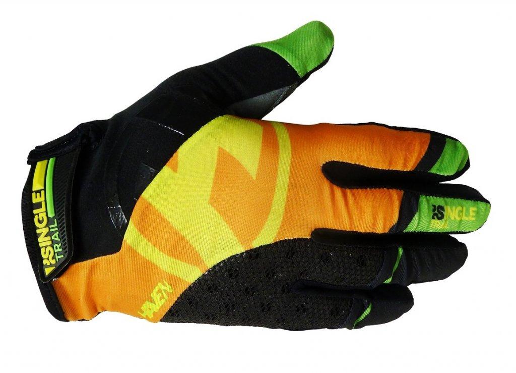 Rukavice HAVEN SINGLETRAIL LONG černo/oranžové