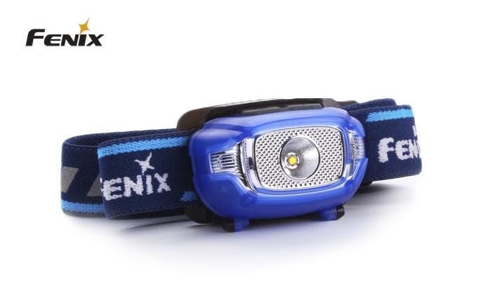 čelovka Fenix HL15 - modrá