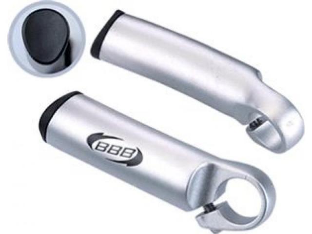 rohy BBB Three D stříbrné rovné