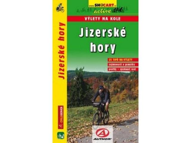 cykloprůvodce Jizerské hory, výlety na kole