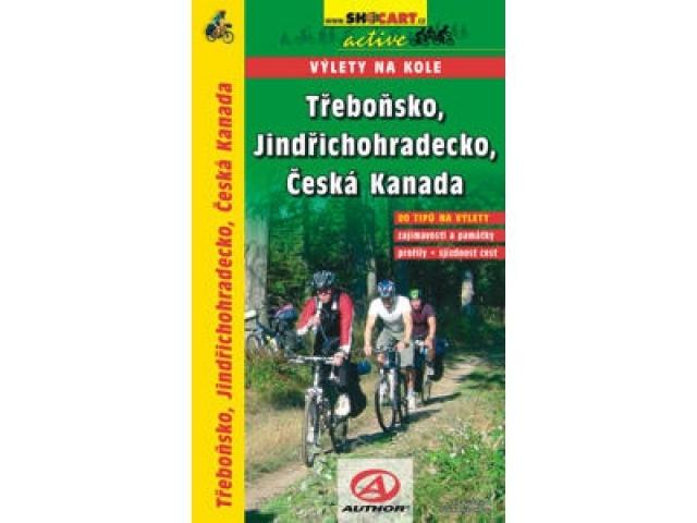 cykloprůvodce Třeboň, J.Hradec, Č.Kanada, výlety na kole