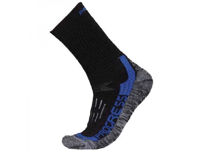 ponožky Progress X-TREME černo/modré, 3-5