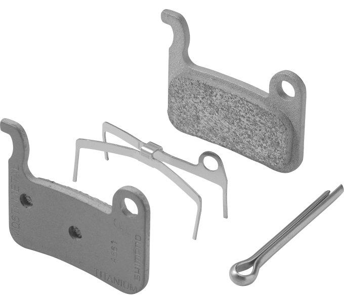 brzdové destičky Shimano XT, XTR, SLX A01S polymer original balení