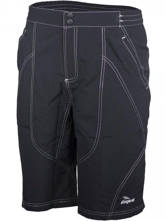kalhoty krátké pánské Rogelli MALESCO MTB černé, 2XL