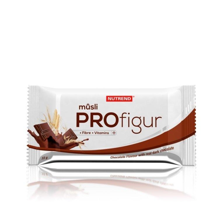 tyčinka Nutrend PROFIGUR musli čokoláda+kakao 33g