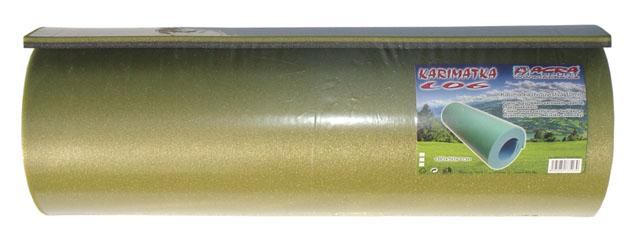 karimatka dvouvrstvá 10mm, khaki/šedá