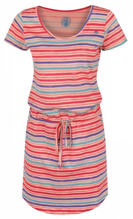 šaty dámské LOAP ASHY meruňkové