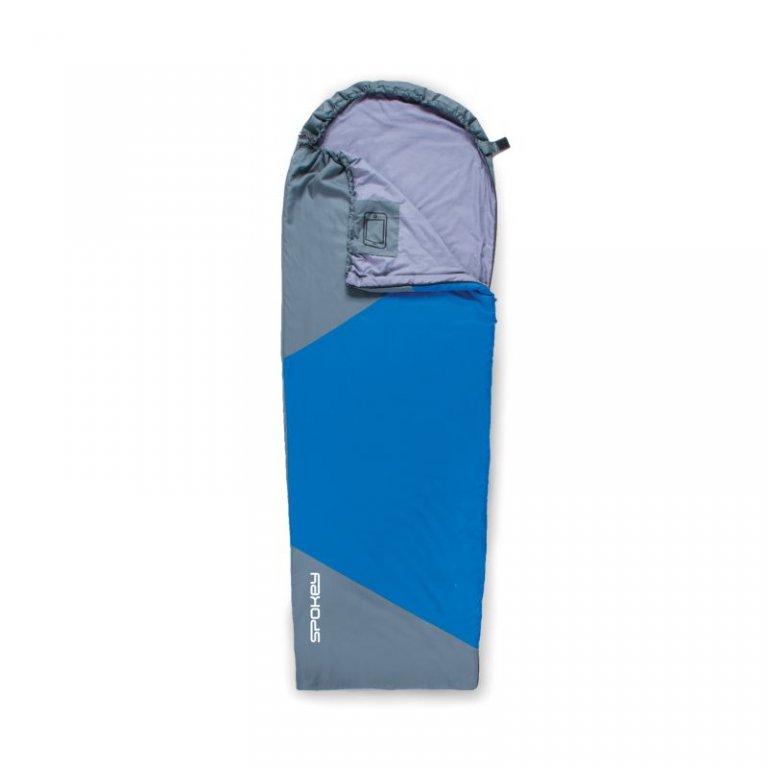 spacák Spokey ULTRALIGHT 600 II modro/šedý