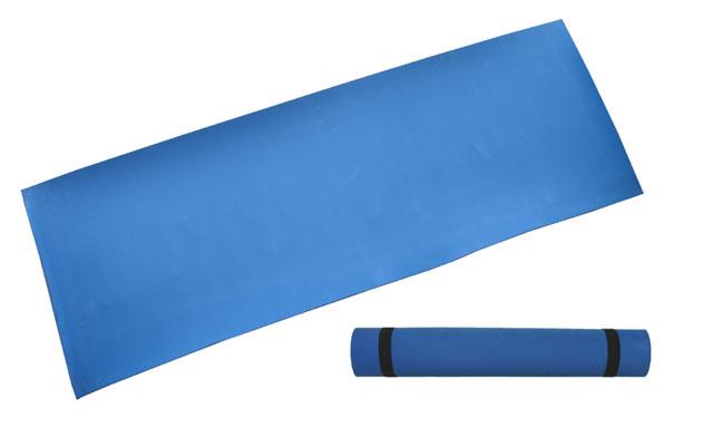karimatka gymnastická 173x61x0,4cm modrá