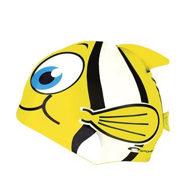 čepice plavecká dětská Spokey RYBKA žlutá