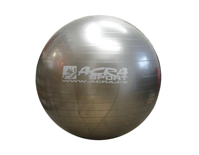 míč gymnastický 900mm stříbrný