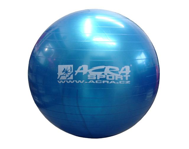 míč gymnastický 650mm modrá