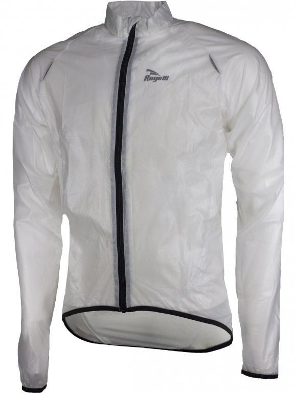 bunda dětská Rogelli CROTONE pláštěnka transparentní, 128