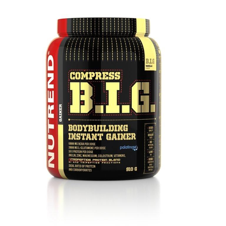 nápoj Nutrend Compress BIG 910g vanilka