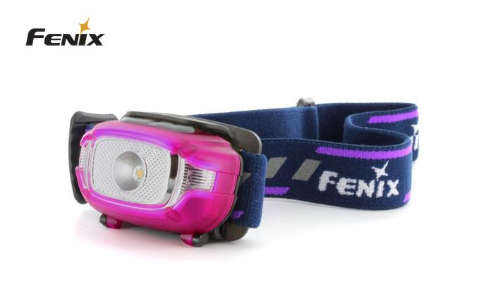 čelovka Fenix HL15 - růžová