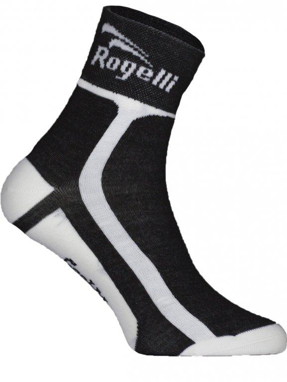 ponožky Rogelli COOLMAX funkční černé, L