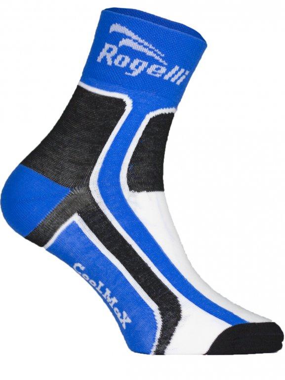 ponožky Rogelli COOLMAX funkční modré, L