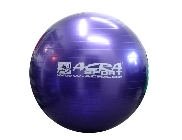 míč gymnastický 550mm fialový