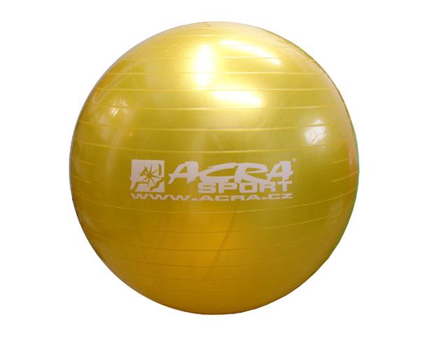 míč gymnastický 650mm žlutý