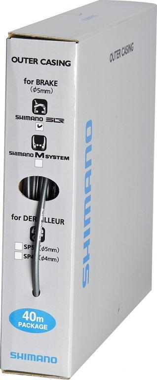 Bowden brzdový Shimano SLR 40m šedý box