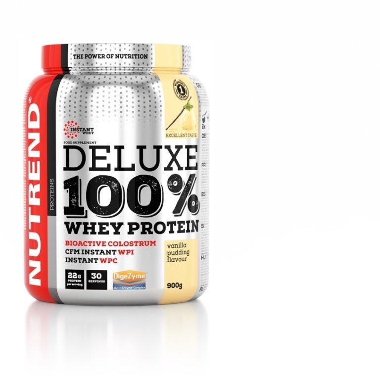nápoj Nutrend DELUXE 100% WHEY 900g vanilka