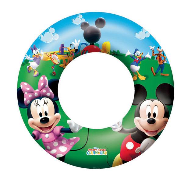 kruh nafukovací 56cm Mickey Mouse