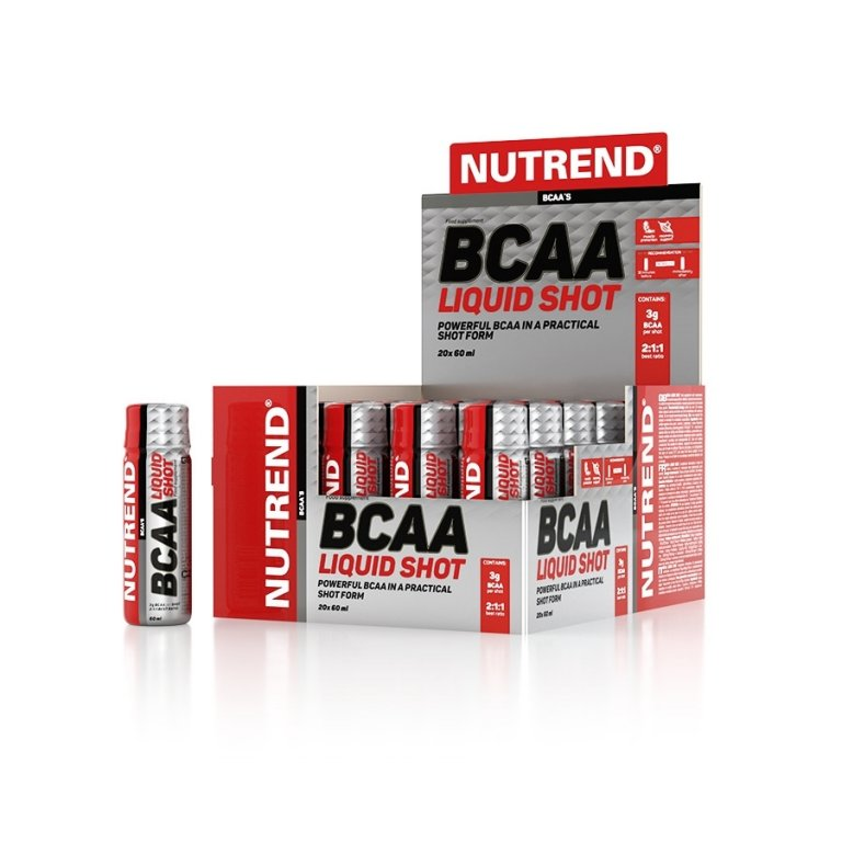 nápoj Nutrend BCAA Liquid Shot 20x60ml