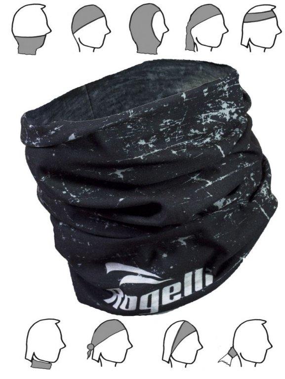 šátek roura Rogelli SCARF černý