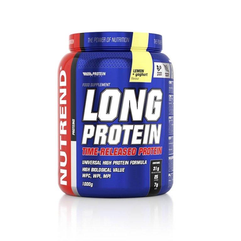 nápoj Nutrend Long Protein 1000g citron+jogurt