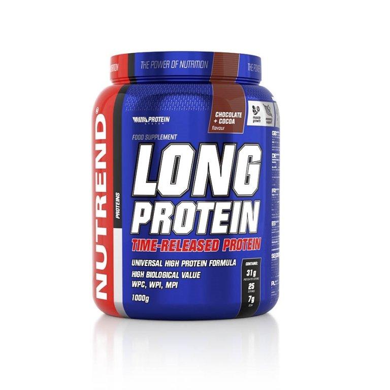 nápoj Nutrend Long Protein 1000g čokoláda+kakao
