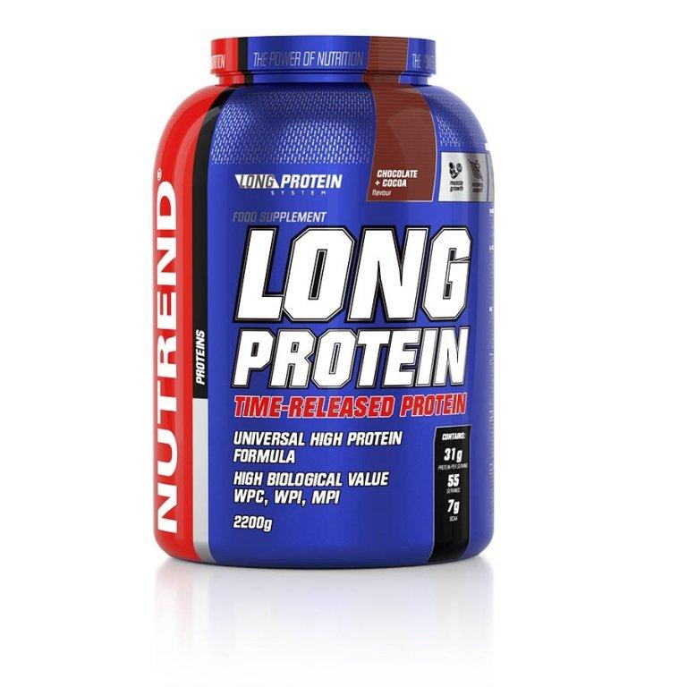 nápoj Nutrend Long Protein 2200g čokoláda+kakao