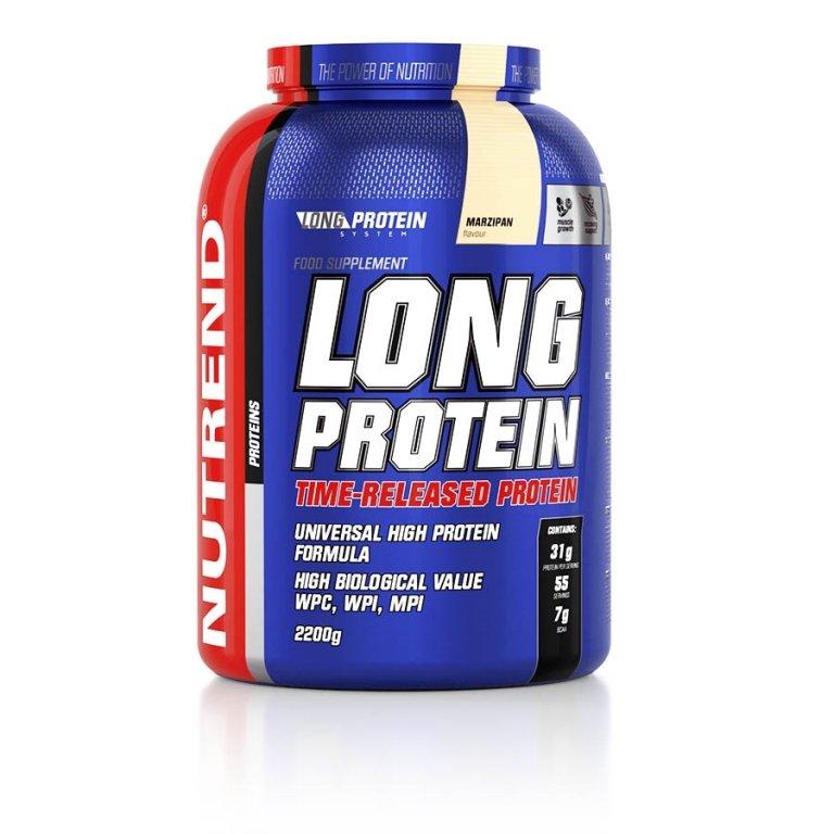 nápoj Nutrend Long Protein 2200g marcipán