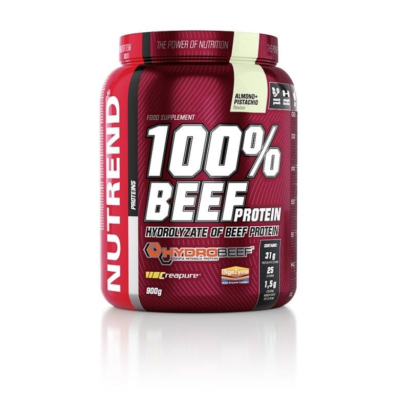 nápoj Nutrend 100% BEEF PROTEIN 900g mandle+pistácie