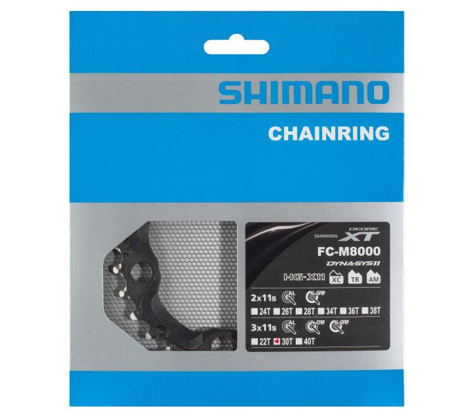 Převodník 30z Shimano XT FC-M8000 3x11 4 díry