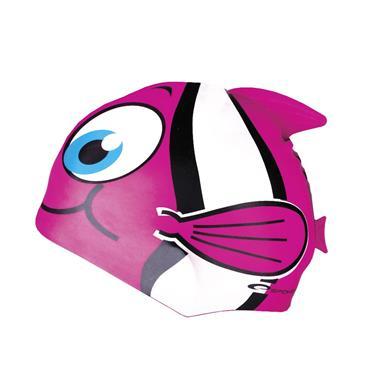 čepice plavecká dětská Spokey RYBKA růžová