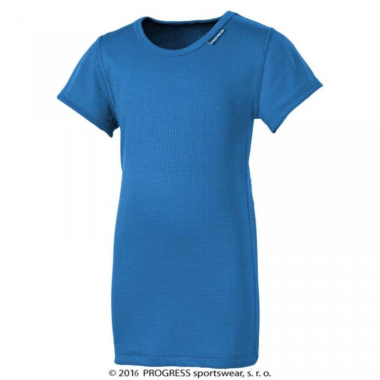 triko krátké dětské Progress DT MS NKRD stř.modré, 116
