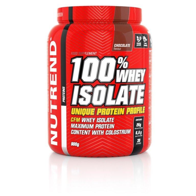 nápoj Nutrend 100% WHEY ISOLATE 900g čokoláda