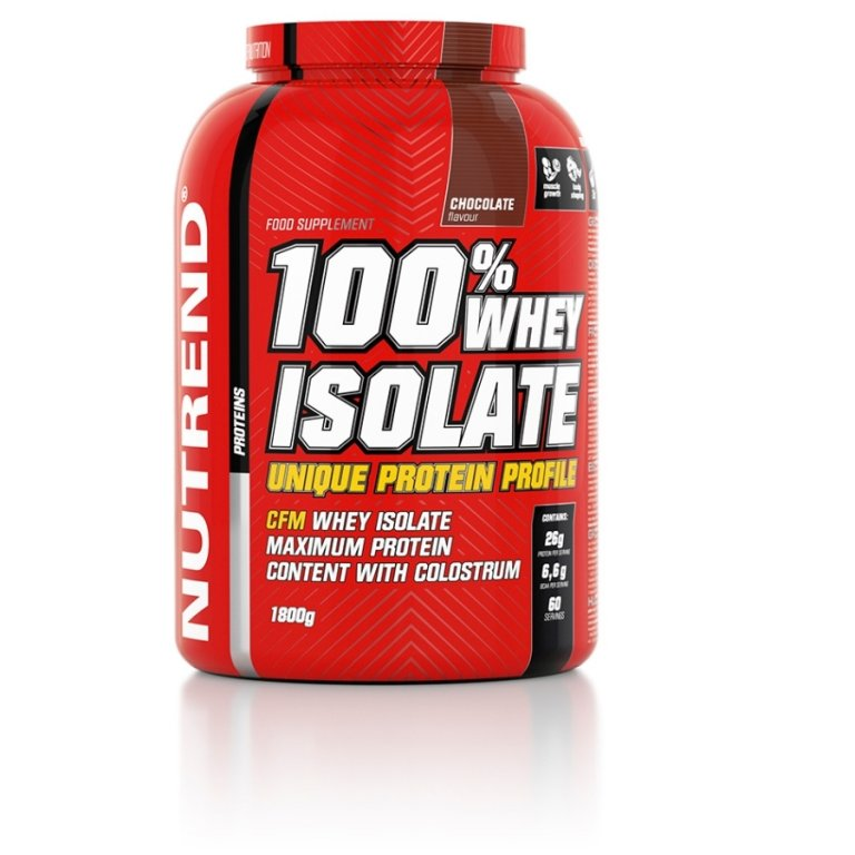 nápoj Nutrend 100% WHEY ISOLATE 1800g čokoláda