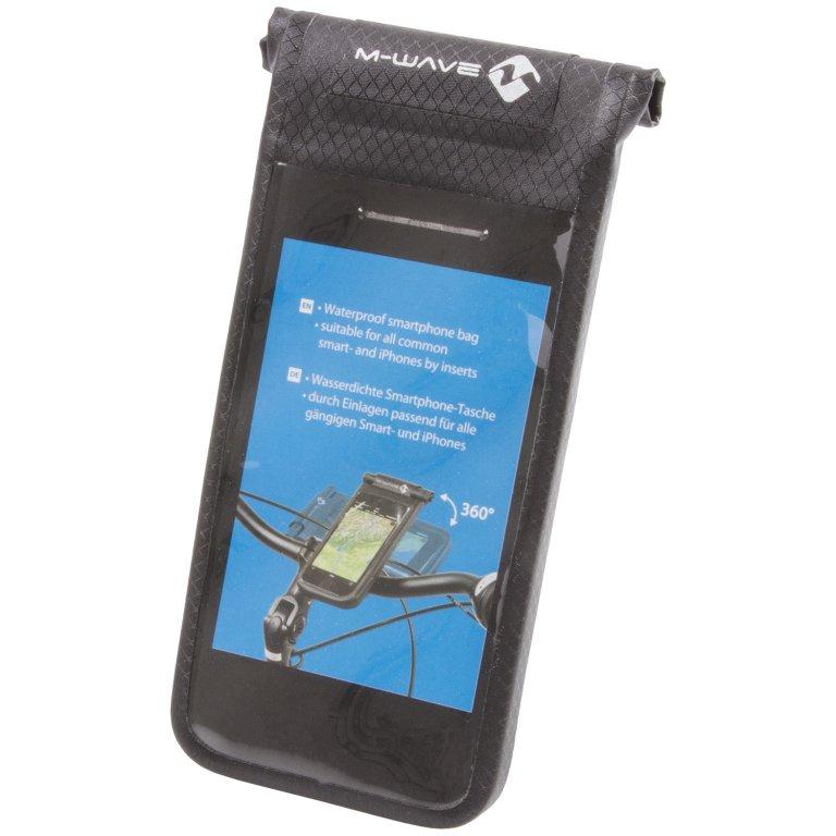 pouzdro na mobil M-Wave Smartphone Black Bay