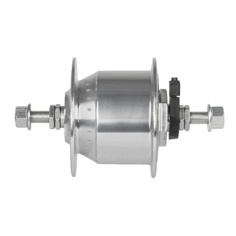 náboj dynamo 6V,3.0W 36d stříbrný pevná osa