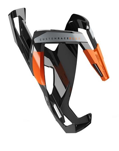 košík ELITE Custom Race Plus Black, oranžový graphic