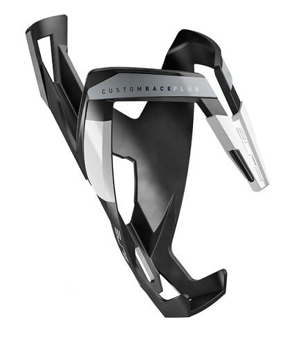 košík ELITE Custom Race Plus Black, matný bílý graphic