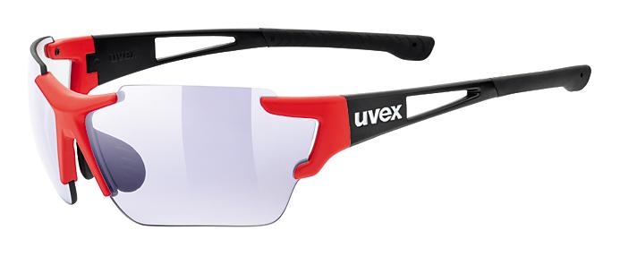 brýle UVEX Sportstyle 803 race VM červeno/černé
