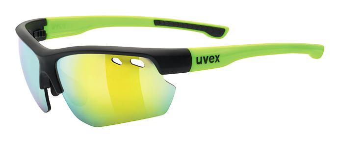 brýle UVEX Sportstyle 115 černo/fluoritové