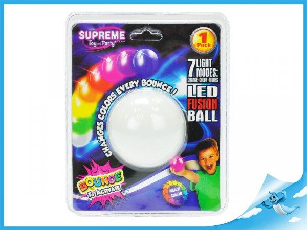 míček 5,5cm svítící skákající
