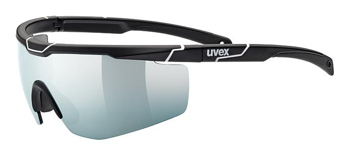 brýle UVEX Sportstyle 117 černo/bílé