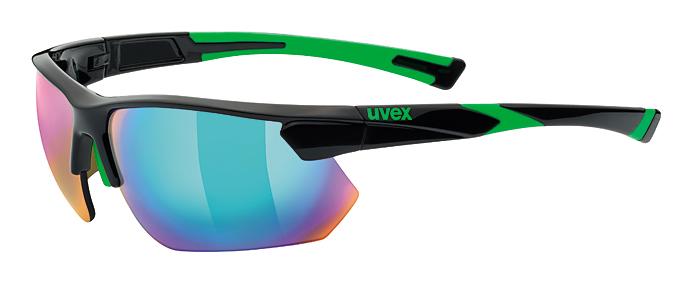 brýle UVEX Sportstyle 221 černo/zelené