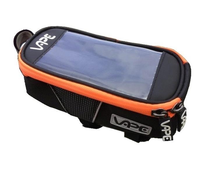 brašna Vape SMB přední na mobil neon oranžový zip